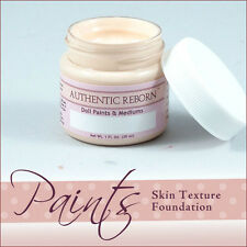 AuThEnTiC ReBoRn SkiN TeXtUrE FoUnDaTiOn Paint ~ 1 OuNcE ~ REBORN DOLL SUPPLIES