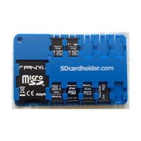 Micro Sd Card Holder - Blue