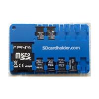 Micro Sd Card Holder - Blue