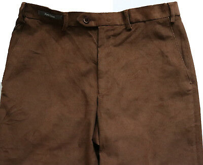 New Mens Marks /& Spencer Brown Cord Trousers Waist 42 38 36 34 32 30 Leg33 31 29