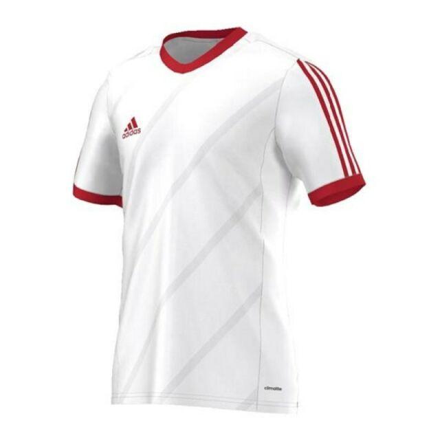 Adidas Tabela 14 Jersey Trainingsshirt Weiß Rot Herren