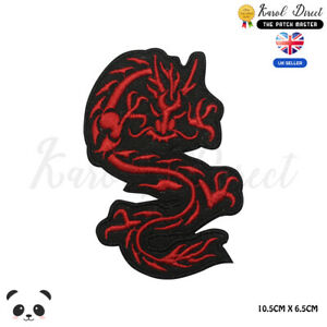 Dragon-Chinese-Dragon-Disney-Embroidered-Iron-On-Sew-On-Patch-Badge