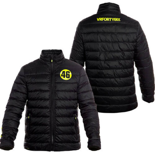 VALENTINO ROSSI VR46 QUILTED JACKET VRMJK213104 ALL SIZES - FREE UK SHIPPING