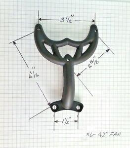 36 Quot 42 Quot Oil Rubbed Bronze Fan Blade Arm Bracket Fits