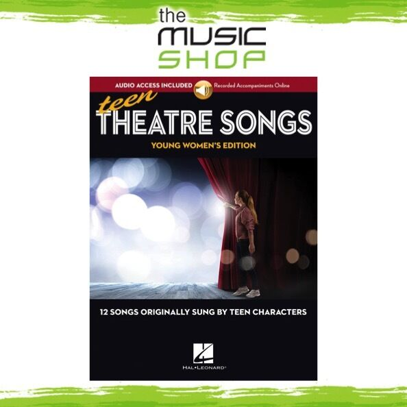 New Teen Theatre Songs: Young Women's Edition Vocal Music Book & OLA