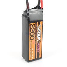 XT60 Discharger Plug VOK 4S Lipo Battery 14.8V 2200mAh 35C For RC Quad Airplane