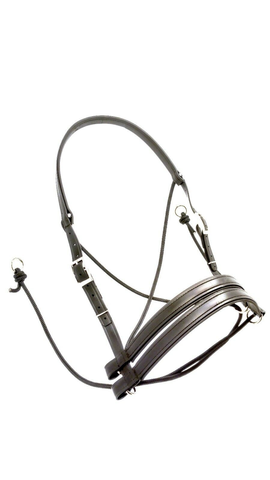 Ultimate Bitless Bridle Classic Biothane, US Patent 8,789,349 Freedom Connection