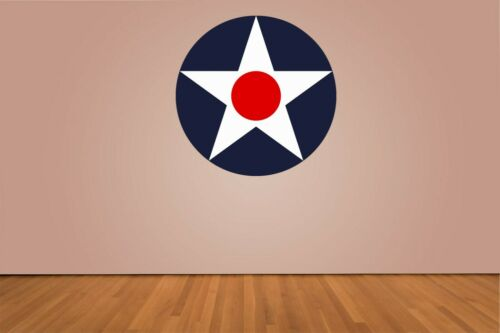 USAAC Roundel United States Army Air Corp 1919-1942 Vinyl Decal Choose Size