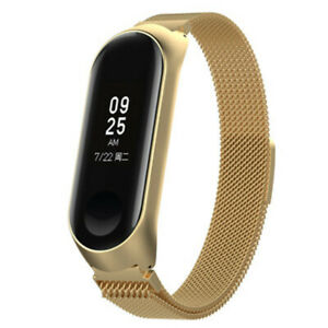 Xiaomi-Mi-Band-3-4-Metal-Stainless-Steel-Wrist-Band-Bracelet-Smart-Watch-Strap