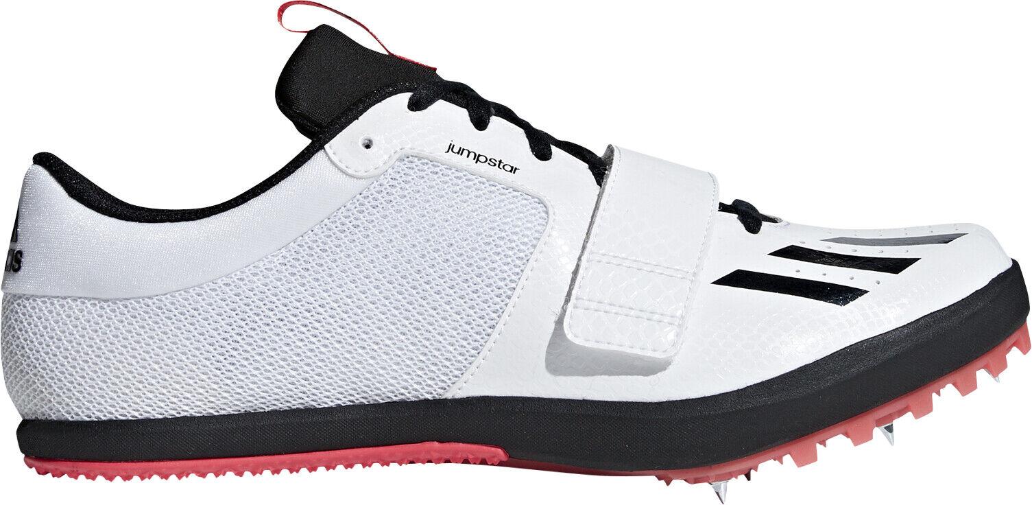 Adidas Jumpstar Field Event Spikes - White