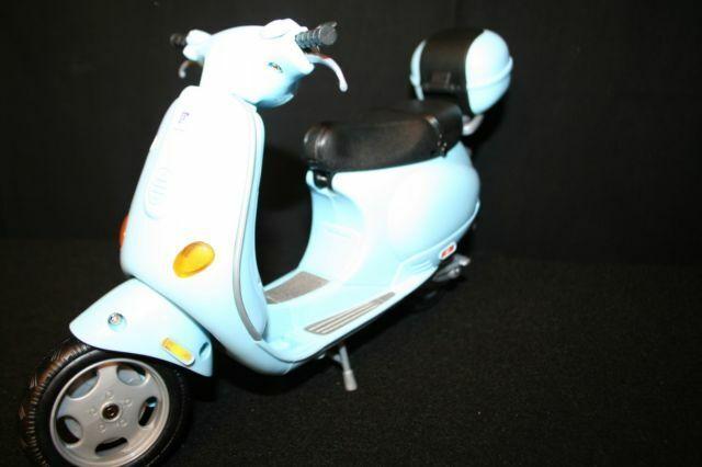 2002 Mattel 88917 Barbie Vespa Motor Scooter For Sale Online Ebay