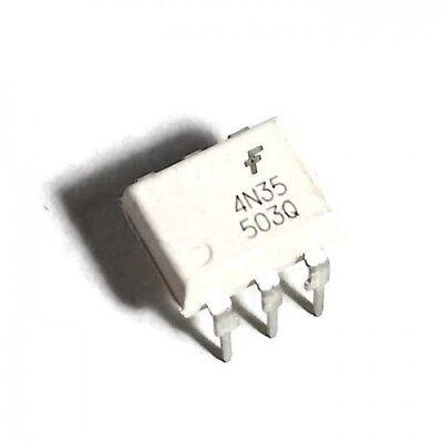 100 Stücke 4N35 DIP6 Fsc Optokoppler Fototransistor 30 V ih