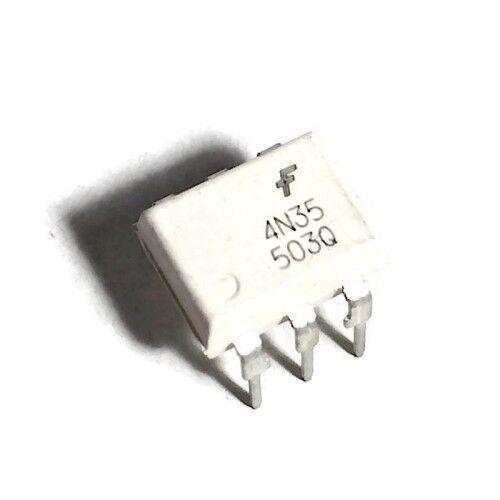 circuit intégré IC CI DIY 4N35 DIP-6 Optocoupleur phototransistor