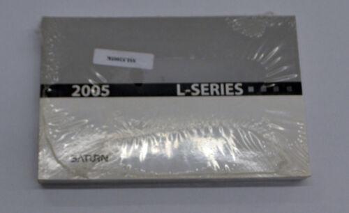 NEW GM OEM 2005 Saturn L-Series Owners Manual P