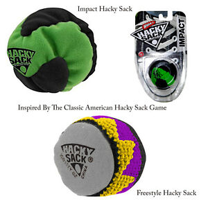Freestyle-Impact-Hacky-Sack-Balls-Sports-Outdoor-Challenge-Juggling-Game-Footbag