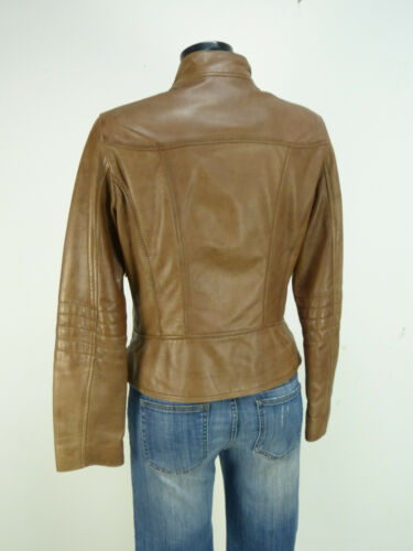 4219 Menthe Pure O Leather Oakwood L Brun Taille Luxe Jacket wOBAqg7SxF