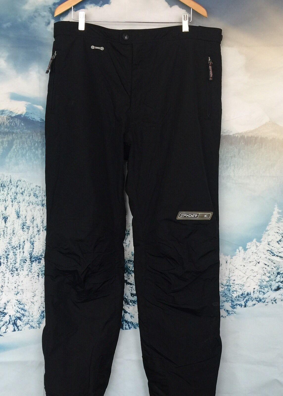 MENS SPYDER XT 5000 schwarz SKI SNOWBOARD SNOW PANTS