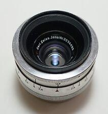 Carl Zeiss Jena Contax Biometar 35mm f/2.8 Lens Original Leica L39 Screw Mount