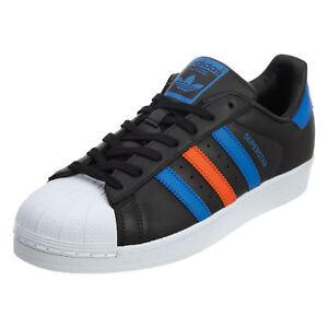 new arrival ed102 423c8 les hommes de chaussures adidas original bb noire noire noire superstar  shell baskets taille   Luxuriant