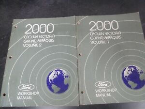 2000 Mercury Grand Marquis Sedan Shop Service Repair ...