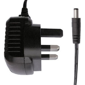 9v 500ma mains adapter battery charger guitar effects power supply regulated ebay. Black Bedroom Furniture Sets. Home Design Ideas
