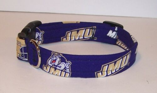 Wet Nose Designs James Madison University Dukes Dog Collar NCAA Duke Dog JMU #2