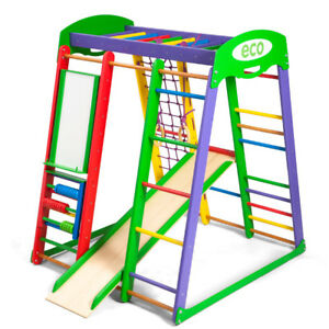Play-Sport-Home-Kids-Gym-Ladder-Toys-Wall-Playground-Game-Baby-Gymnastic-Slide