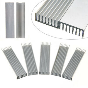 5-Pcs-100x25x10mm-Heatsink-Aluminum-Heat-Sink-Chip-for-IC-LED-Power-Transistor