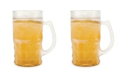 Frosty Beer insulated Mug Keep Your Drink Cool ( Set of 2 )