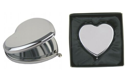 Engraved I Love You Mummy Heart Hand Compact Mirror /& Gift Box FREE ENGRAVING