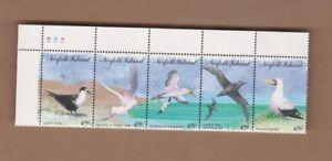 1994-Norfolk-Island-Sea-Birds-SG-575-9-CTO-Set-5-MUH