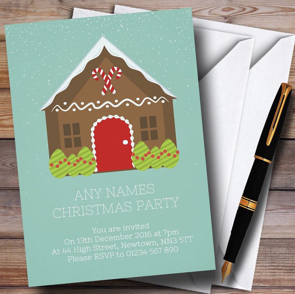 Grun Gingerbread House Personalised Christmas Christmas Personalised