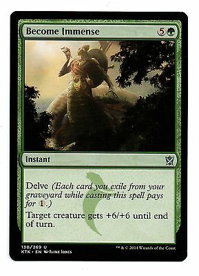 Become Immense Magic the Gathering MTG Khans of Tarkir SP//NM