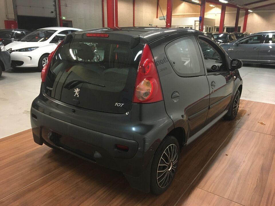 Peugeot 107 1,0 Smile Benzin modelår 2007 km 258000