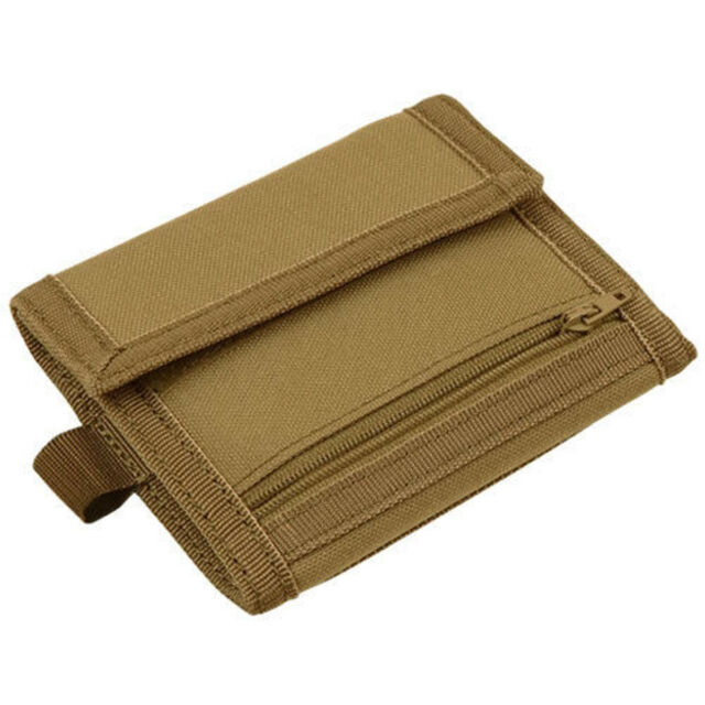 condor vault tri fold wallet 235 498 size 4h x 5w color coyote brown