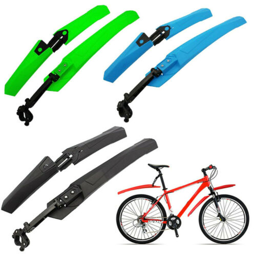 """24/""""-29/"""" Mountain Bike Mudguards Bicycle Mud Guard Tire Fenders Front Rear Set v"""