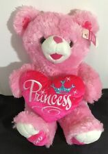 Baby Girl To Celebrate  Pink Princess Sweetheart Teddy Bear For New Baby Girl