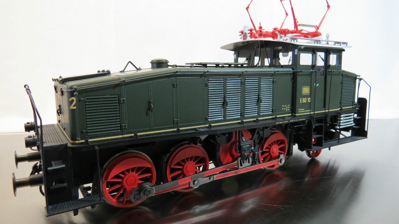 Dingler allestimento interno e 60 locomotiva traccia 0 RARO IN OTTONE MODELLO lot. EB 00/02