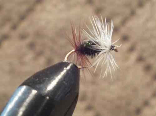 12 Renegade Trout Fly Size 14-1 Dozen Dry Flies F725