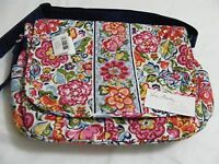 Vera Bradley Hope Garden Messenger Bookbag Laptop Crossbody Shoulder Diaper