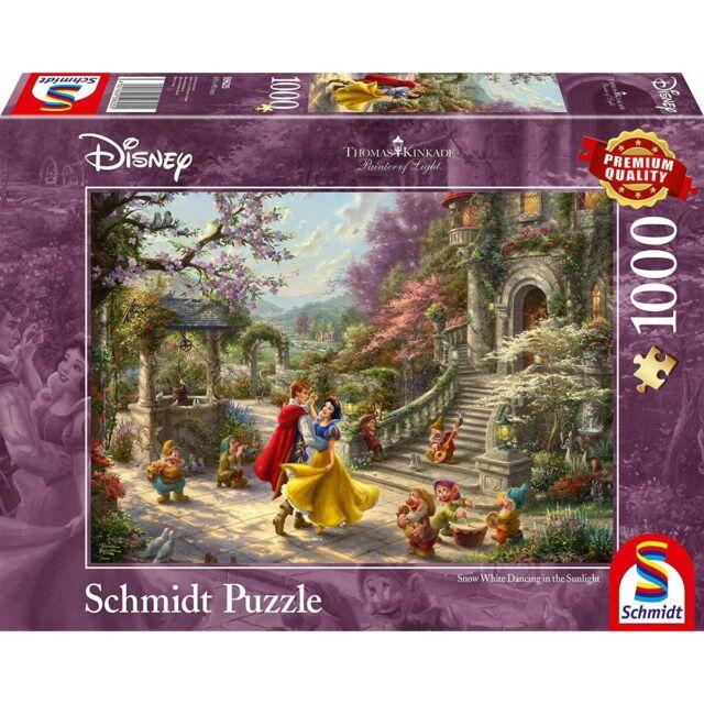 Disney Puzzle Thomas Kinkade 1.000 Teile Schmidt Spiele 59625 Schneewittche