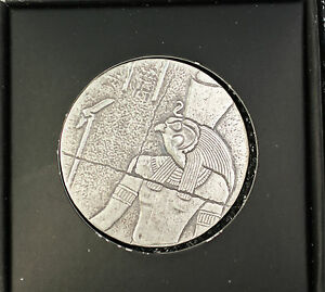 2016-Republic-of-Chad-1000-Francs-Relic-Pharaoh-Ancient-Like-Poured-Silver-Coin