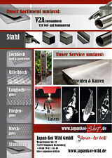 Stahl Quadratrohr Rohr Stahl Quadrat Vierkantrohr 80x80x5mm, 1meter