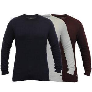 mens-jumpers-Threadbare-knitted-sweater-pullover-waffle-top-casual-winter-new