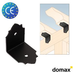 10x SDSKW 2 Dekorativ Lochwinkel Holzverbinder Winkelverbinder Winkel mit CE