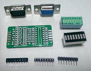 GGLABS-T232-Kit-RS232-signal-breakout-and-monitor-DB9M-DB9F-DIY