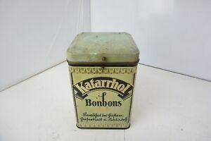 Gero-Katarrhol-Bonbons-Karamel-Spezialitaeten-Dose-Antik-Retro-Vintage-Sammler