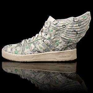 Details about Adidas Jeremy Scott JS Wings 2.0 Money, Dollar, New, Authentic !