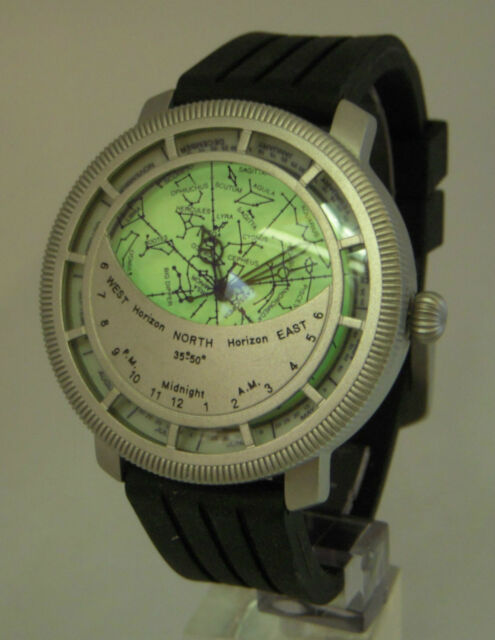 Planisphere Watch - Star Chart Space Telescope Astrodea Science Astronomy  Map