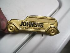 New Listing1950s Antique Automobile Visor Nos Service Reminder Vintage Chevy Ford Jalopy Vw